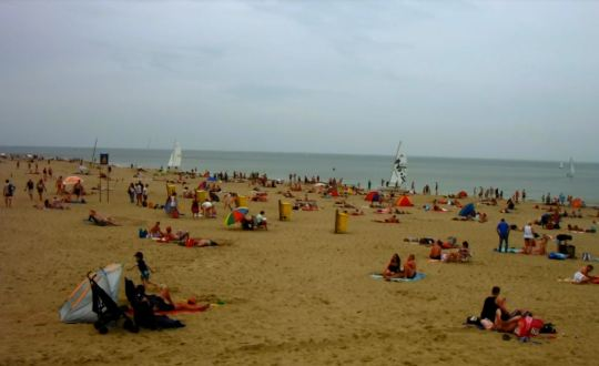 The beach at Noordwijk.