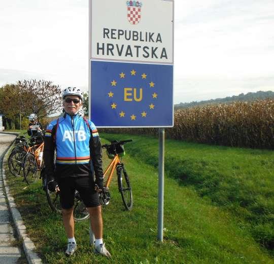 Entering Croatia (Hrvatska).